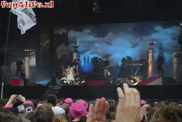 Within Temptation op Mainstage
