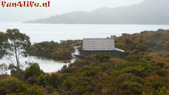 Cradle Mountain<br />Dove Lake boat shed