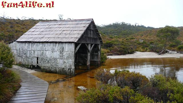 Cradle Mountain, Dove Lake boat shed